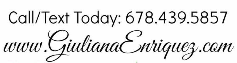 Giuliana Enriquez 678-439-5857 Agente de Bienes Raices en Atlanta GA